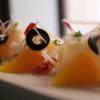 ensalada de bacalao ahumado con naranja